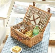 picnic basket set for 2 wholesale handmade mini picnic basket cheap wicker picnic basket