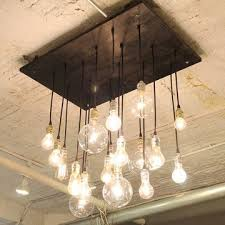 Hanging Edison Bulb Chandelier 75 Best Inspiration Edison Bare Bulb Canopies Images On