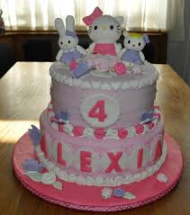 hello kitty birthday cake cakecentral com