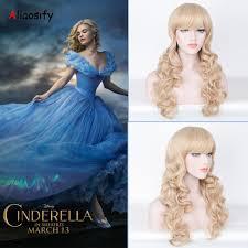 halloween costumes wigs popular cinderella cosplay wig buy cheap cinderella cosplay wig