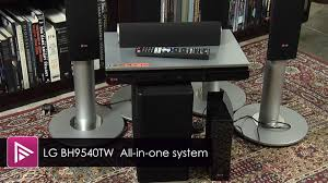 wireless blu ray home theater system lg bh9540tw all in one home cinema system review youtube