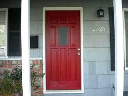 gray painted front door doors menards decorations for fall steel