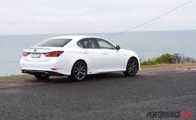 lexus used car australia 2015 lexus gs 450h f sport review video performancedrive