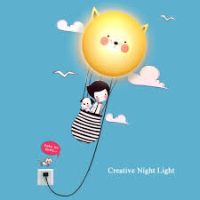 Night Light Kids Room by 8 Best Kids Night Light Wall Lamp Images On Pinterest Wall Lamps