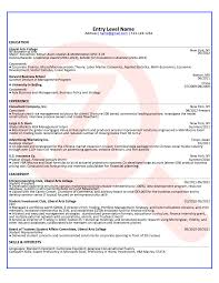 Resumes For Jobs Examples by Entry Level Consultant Sample Résumé Zoomdojo