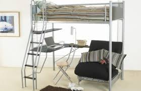 Metal Bunk Bed With Desk Loft Bed For The Modern Kids U0027 Room 25 Cool And Original Ideas