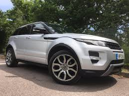 range rover silver used 2013 land rover range rover evoque 2 2 sd4 dynamic for sale