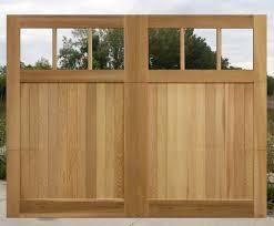 Two Door Garage by Backyards Wood Garage Doors Wood Garage Doors For Sale U201a Natural