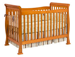 Oak Convertible Crib Davinci 4 In 1 Convertible Crib In Oak W Toddler Rails M2801o