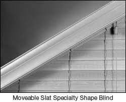 Blinds For Angled Windows - trapedoid window blinds google search lake windows pinterest