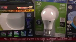 Led Versus Fluorescent Light Bulbs by Led Light Bulbs 8 Tips Ace Hardware Youtube
