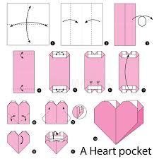 Pocket Origami - step by step how to make origami a pocket