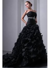 black wedding dresses new pretty ruffled layers black wedding dress 1st dress