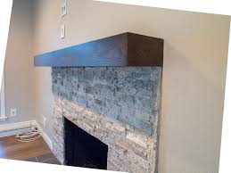 Contemporary Fireplace Mantel Shelf Designs by 48 4 Foot Cherry Modern Beam Mantel Cherry By Customcornersllc