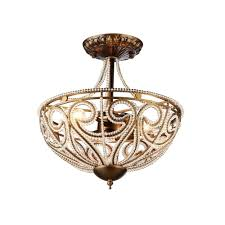 Indoor Chandeliers Warehouse Of Modern 3 Light Antique Bronze