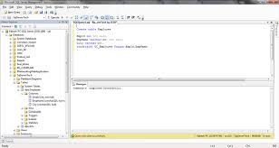 sql server create table primary key sql server database basics query command