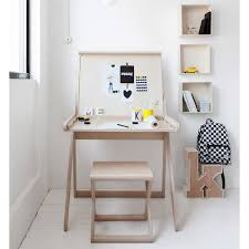 k designer kids desk in natural wood teenagers themed kids bedrooms