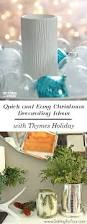 Christmas Decorations Ideas To Make At Home by Easy Christmas Decorating With Thymes Holiday Setting For Four