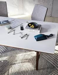Modern Meeting Table Modern Rectangular Meeting Table West Elm Workspace