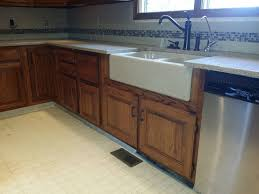 granite countertop mobile home kitchen cabinet doors backpainted