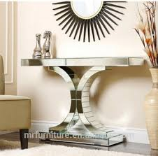 Mirrored Console Table Living Empire Mirrored Console Table Sofa Table View Mirrored