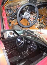 1968 corvette interior 1968 1977 corvette d howard 77 interior before and after