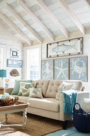 white washed wood and accent ideas for coastal theme home not
