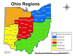 Map Of Ohio by Biop 2 The The University Of Akron