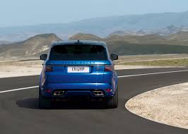 land rover velar svr range rover sport first zero emission plug in from land rover