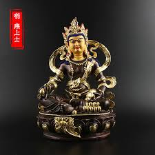 usd 91 67 huang god of wealth buddha statue tibetan secret pope