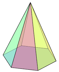 hexagonal pyramid wikipedia