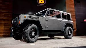 renegade jeep truck bollinger b1 all electric all terrain jeep renegade forum