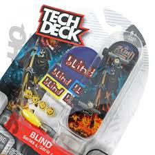 Tech Deck Blind Skateboards Tech Deck Blind Reaper Fire Series 4 Skater Hq
