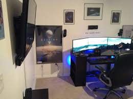 Pc Gaming Setup Update 3 Awesome 2013 Pc Gaming Setup 50in Addition 1080p