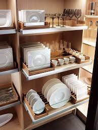 Kitchen Storage Cabinet Best 25 Dish Storage Ideas On Pinterest Plate Storage