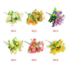 2016 2015 orchid fake flowers silk flowers gerbera home decor gift