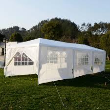 Patio Tent Gazebo by Costway 10 U0027x30 U0027heavy Duty Gazebo Canopy Outdoor Party Wedding Tent