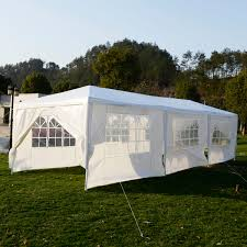Hammock With Stand And Canopy Costway 10 U0027x30 U0027heavy Duty Gazebo Canopy Outdoor Party Wedding Tent