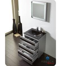 Silver Bathroom Vanity 24