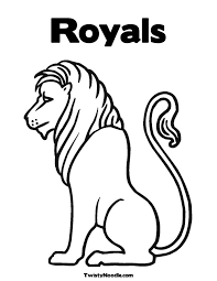 san francisco giants coloring pages royals baseball clipart 57