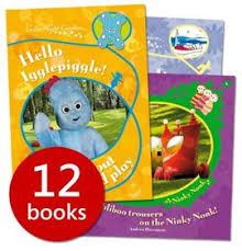 night garden collection 8 books u0026 4 activity books