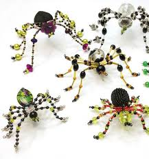 Halloween Jewelry Crafts - 284 best beaded spiders images on pinterest beaded spiders