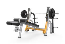 Weight Bench With Spotter Breaker Olympic Flat Bench Free Weights Matrix Fitness