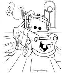 film car coloring sheets disney pixar coloring book car