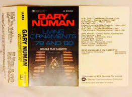 gary numan living ornaments 79 and 80 cassette at discogs
