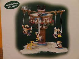 dept 56 56866 animated swinging disney fab five 5 mickey mouse