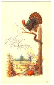 34 vintage thanksgiving postcards free public domain images