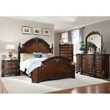 Mirrored Furniture Bedroom Set South Hampton Bedroom Bed Dresser U0026 Mirror Queen 99514