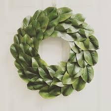 magnolia leaf wreath 18 magnolia leaf wreath farmhouse wreath fixer