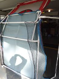 diy golf net anyone else built one golf talk the sand trap com